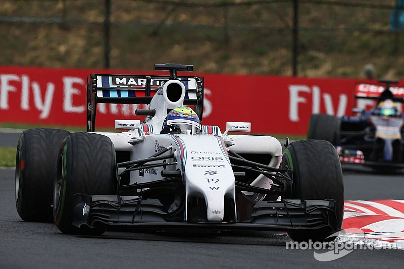 Williams scores points with both cars in an eventful Hungarian GP