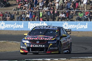 Supercars Race report Devastation for Caruso gifts Jamie Whincup double race wins