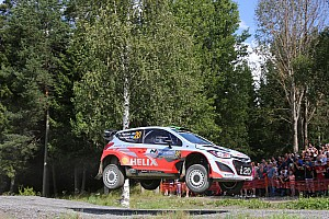 WRC Race report Hyundai flies to top six finish on mixed final day in Finland