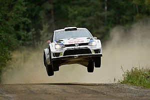 WRC Testing report Rally legend Marcus Grönholm tests the Volkswagen Polo R WRC