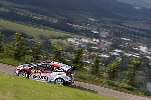 WRC Leg report Stage wins for Kubica