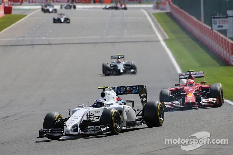 Williams' Valtteri picks up his fourth podium of the season at Spa-Francorchamps