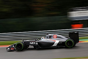 Formula 1 Race report Sauber not fast enough in Spa-Francorchamps