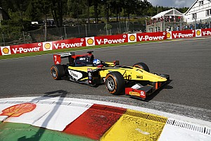 GP2 Race report Jolyon Palmer and DAMS cope with the pressure in Belgium