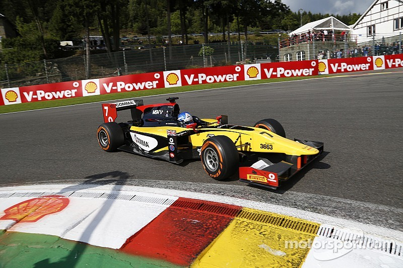 Jolyon Palmer and DAMS cope with the pressure in Belgium