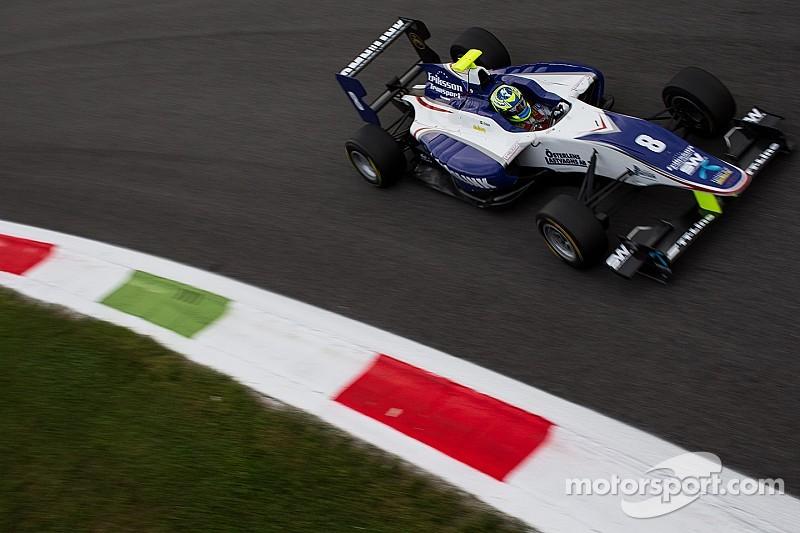 Eriksson flies to Monza pole