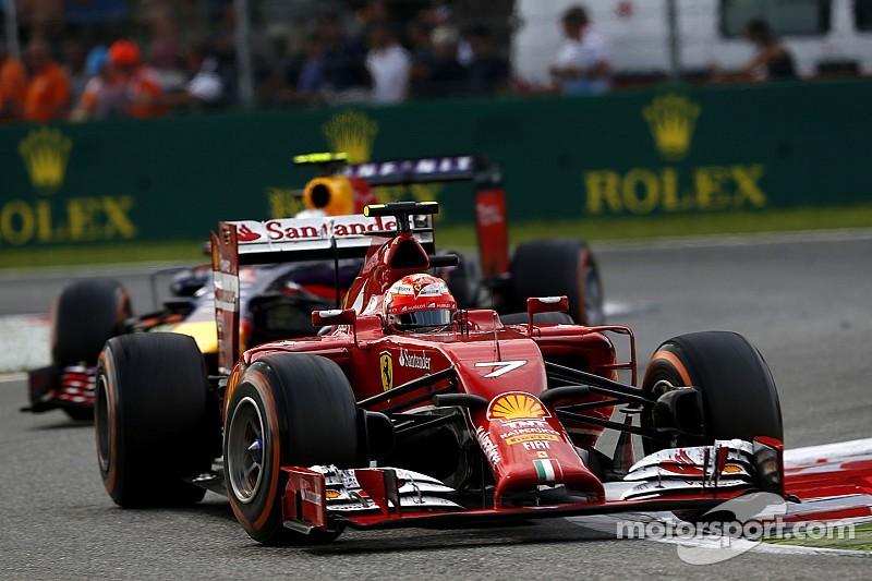 Ferrari on Italian GP: Kimi ninth, Fernando's first retirement