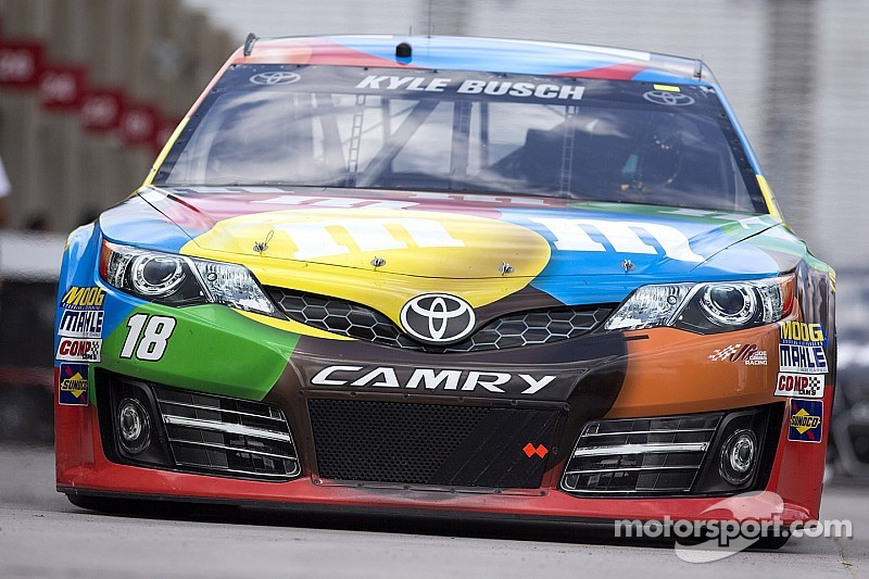 New cars for Kyle Busch, too
