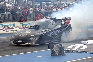 NHRA Qualifying report Ladies launch into top qualifying spots: DeJoria and Enders-Stevens fast at Charlotte
