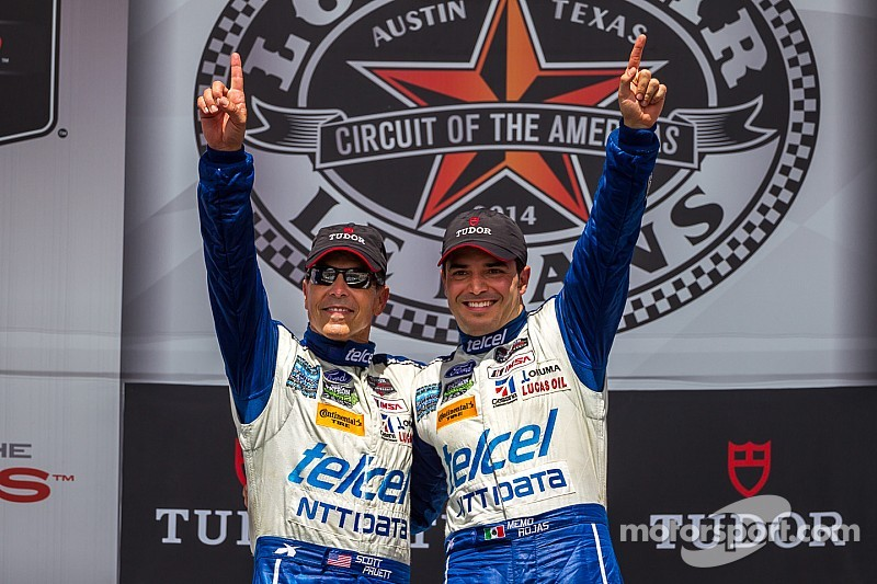 Pruett holds off late charge from Brundle to win at COTA
