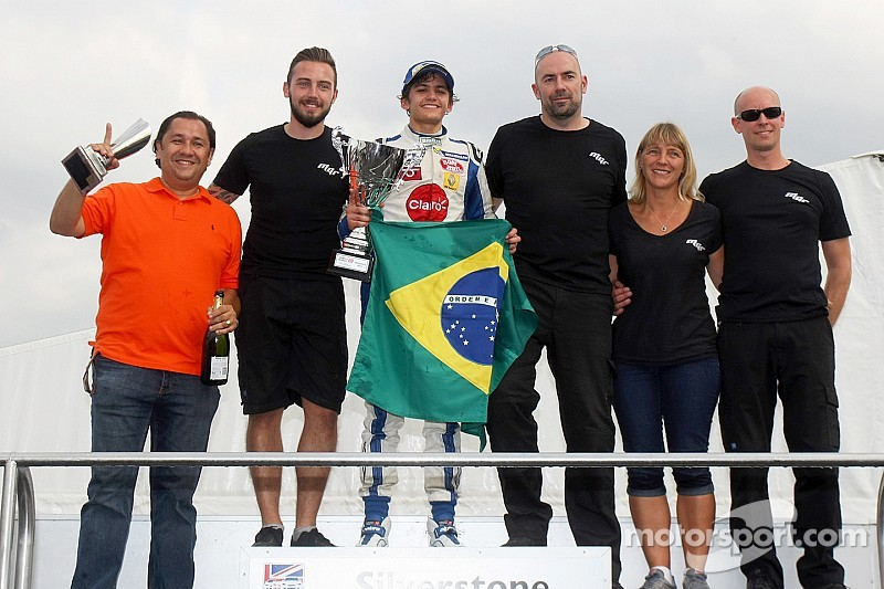 Pietro Fittipaldi crowned champion at Silverstone