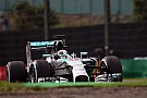 Mercedes leading the timesheets in the first two practice sessions at Suzuka