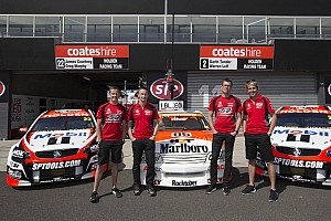 Supercars Practice report Murphy quickest in co-driver practice at Bathurst