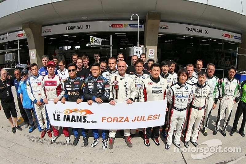 Asian Le Mans Series Teams thoughts are with Jules Bianchi