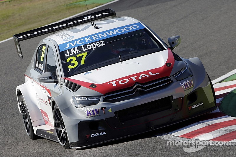 Pole for López as Citroën secure 1-2-3!