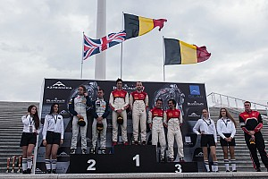 Blancpain Sprint Race report Perfect weekend in Baku brings five additional titles to the Belgian Audi Club Team WRT!