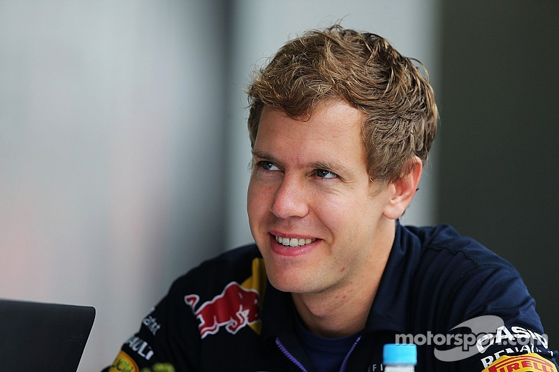 Vettel says 'good bye' to his team at Brazil