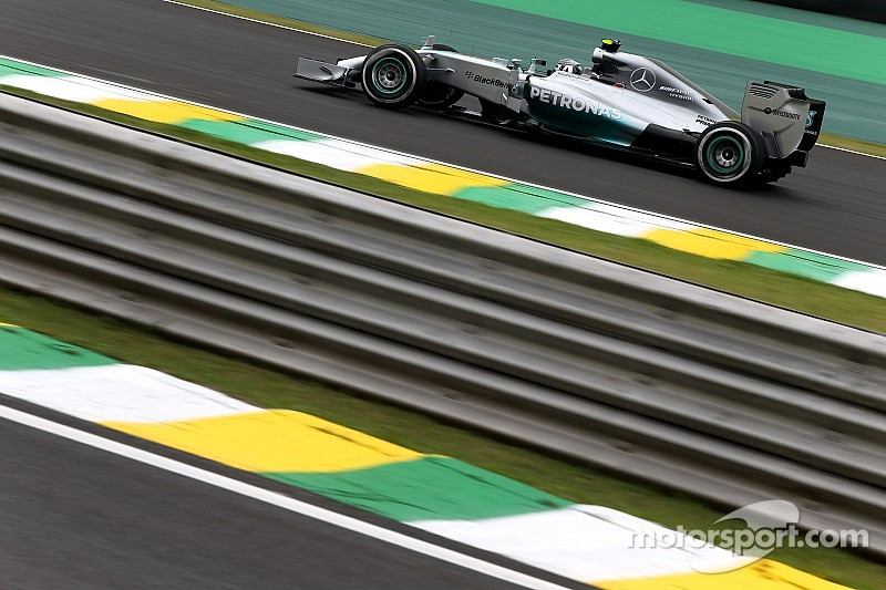 Brazilian GP practice 2 results: Rosberg continues to set the pace