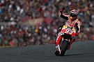 Marquez takes record breaking 13th win of the year in Valencia