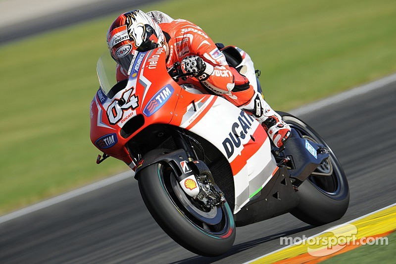 Dovizioso and Crutchlow end the season with fourth and fifth place in the Valencian Community GP