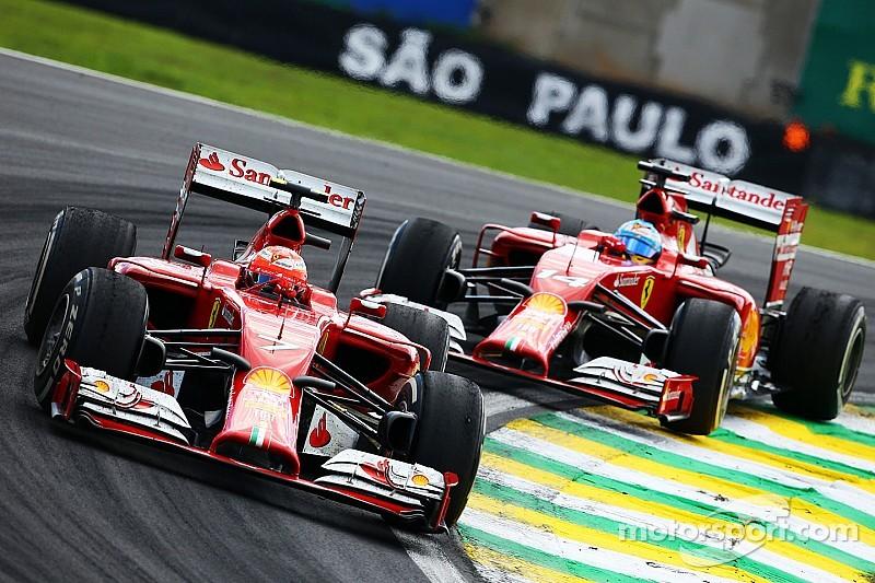 Ferrari making progress, says happy Raikkonen