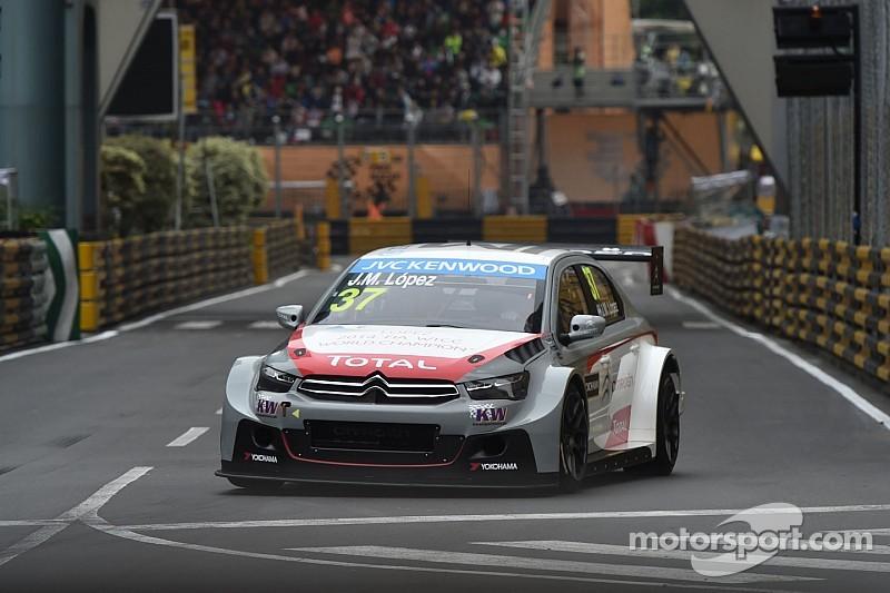 Jose Maria Lopez on pole at Macau