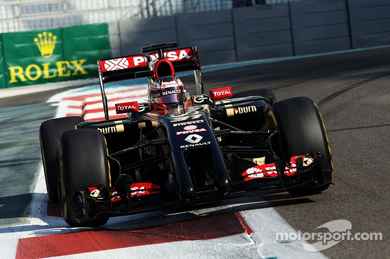 Both Lotus cars ran reliably throughout Friday practice for the Abu Dhabi GP