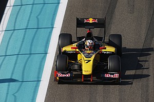 GP2 Practice report Pierre Gasly ends GP2 testing on top