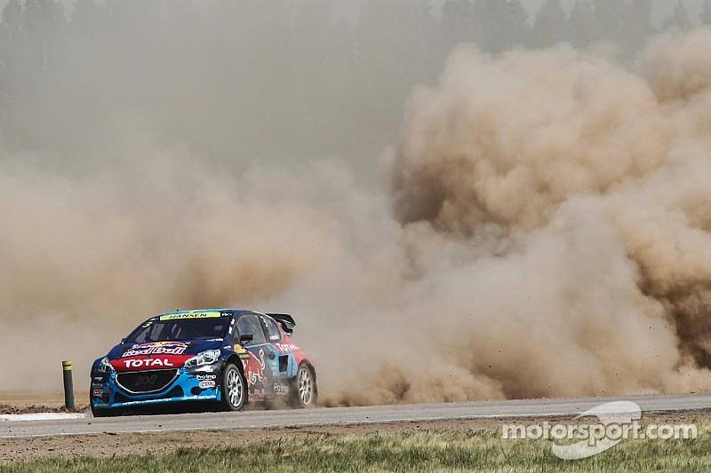 Team Peugeot-Hansen takes third in Rallycross championship
