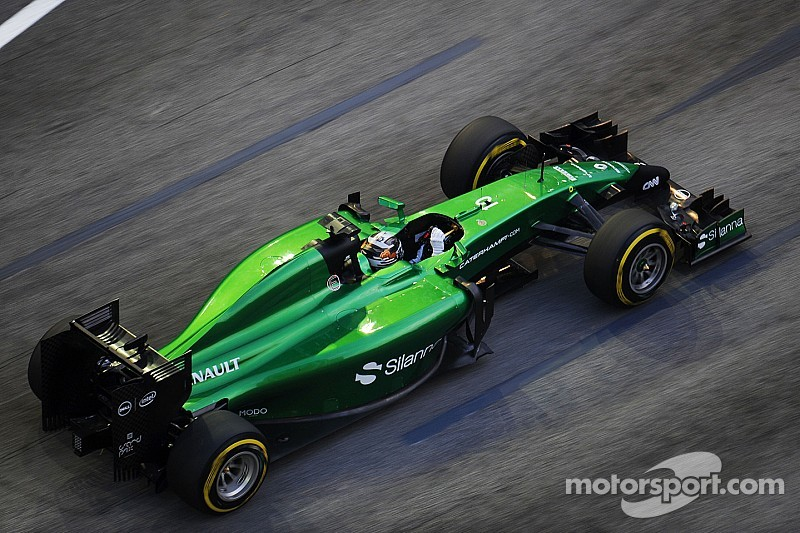 Caterham F1 buyer and seller enter arbitration