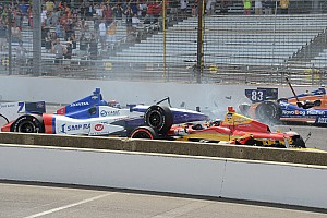 IndyCar Breaking news IndyCar drops standing starts as 2015 rules are finalized