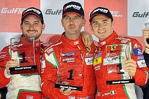 Endurance Race report Victory for AF Corse in the Gulf 12 Hours