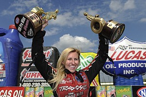 NHRA Special feature Top 20 moments of 2014, #20: 100th win for a woman in NHRA