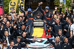 WRC Special feature Top 20 moments of 2014, #18: Neuville, Hyundai win first rally after rolling in Germany