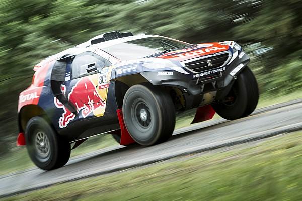 Team Peugeot-Total shift into race mode