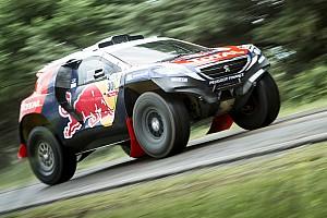 Dakar Preview Team Peugeot-Total shift into race mode
