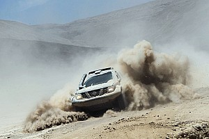 Dakar Stage report Al-Rajhi mixes it with the big boys