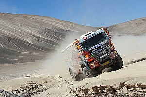 Dakar Stage report Instaforex Loprais Team close to the finish at Buenos Aires - video