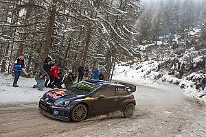 WRC Stage report Ogier holds lead heading into final day