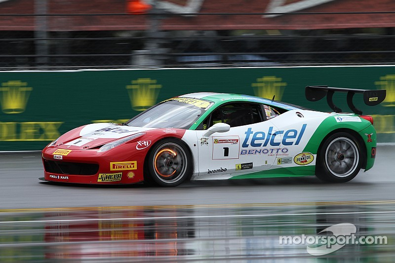 North American Ferrari Challenge – A formidable race beneath the rain
