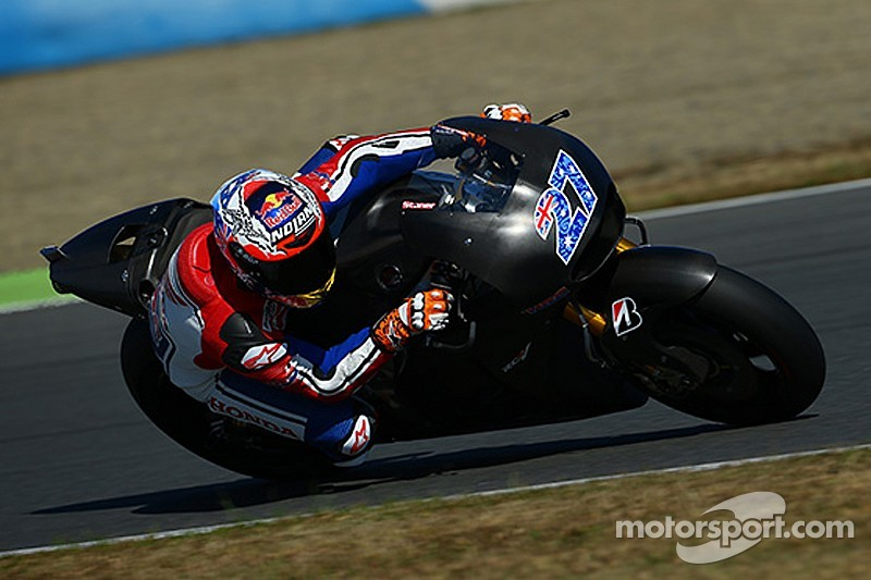 Stoner completes three day Honda MotoGP test