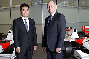 "Formula 1 Breaking news The start of a ""long journey"" with Honda, says Dennis"