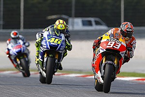 MotoGP Breaking news Miniscule gap separates top MotoGP riders on first day of 2015 testing