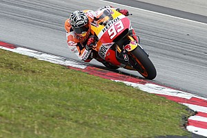 MotoGP Breaking news Marquez blitzes testing lap record at Sepang on final day