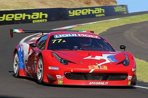 Bathurst 12 Hours:  Rigon and Vilander shine in qualifying