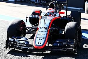 Formula 1 Breaking news Button to kick off Barcelona test for McLaren
