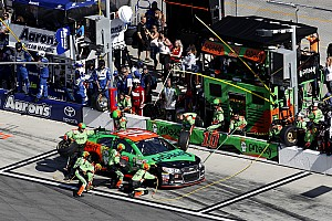 NASCAR Cup Breaking news It's a hand slap for Danica Patrick's team