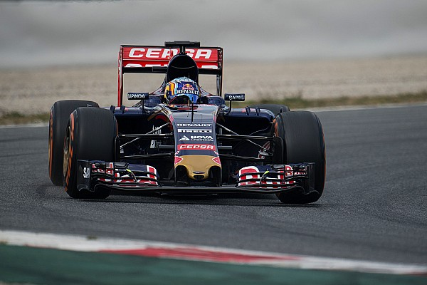 Sainz Jr. pruebas los cambios de Toro Rosso