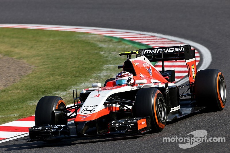 Manor Marussia on 2015 F1 entry list