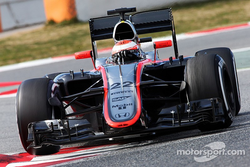 McLaren has its most productive and promising day of the winter
